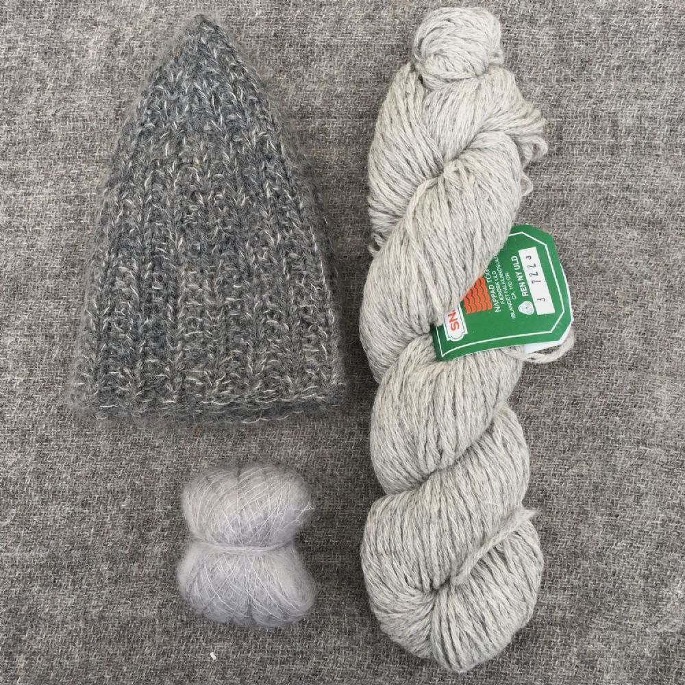"Kit: ""Signal Rock"" hat - Fluffy Cloud"